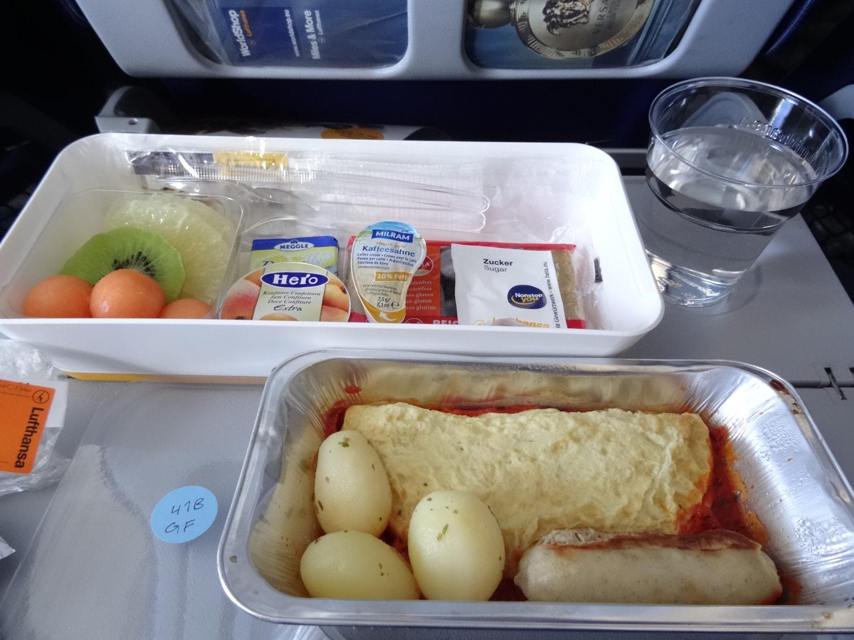 Petit déjeuner sans gluten Lufthansa après ouverture