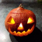 Halloween - creuser une citrouille ou un potiron - sortir sans gluten