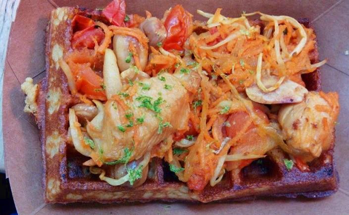 bandeau gaufres sans gluten paris - yummy and guiltfree - sortir sans gluten