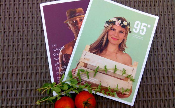 Magazine 95 degres - sans gluten - couverture