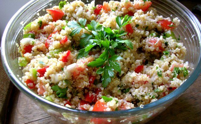 Taboulé de quinoa - recette sans gluten