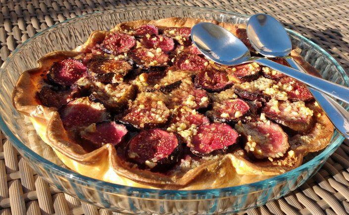 Tarte figues sans gluten : la recette