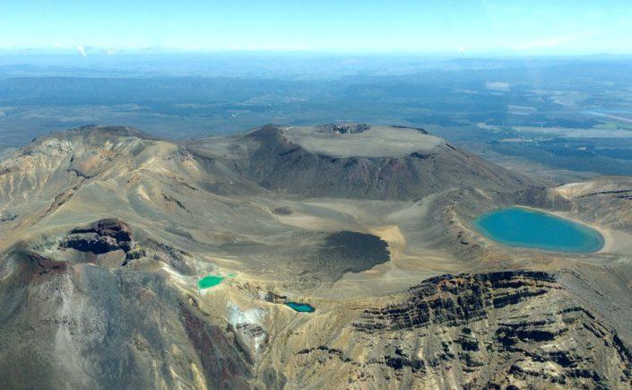 Nouvelle Zélande - parc national de Tongariro