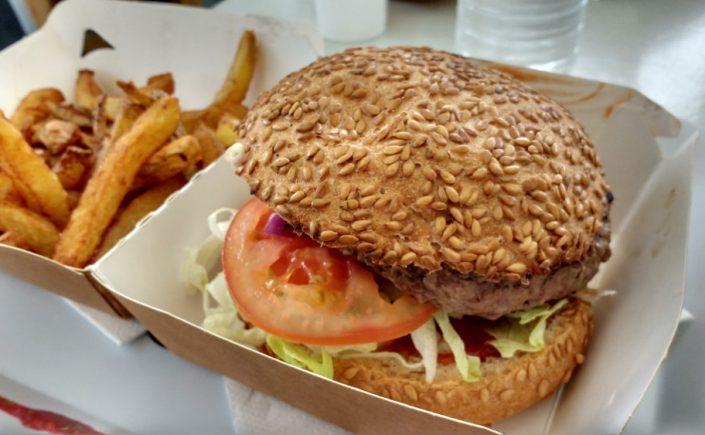 hamburger sans gluten - Eden Bio Perpignan