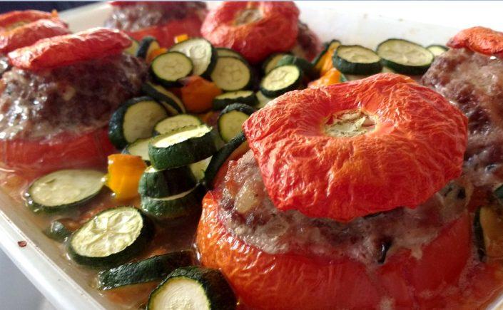 tomates farcies sans gluten