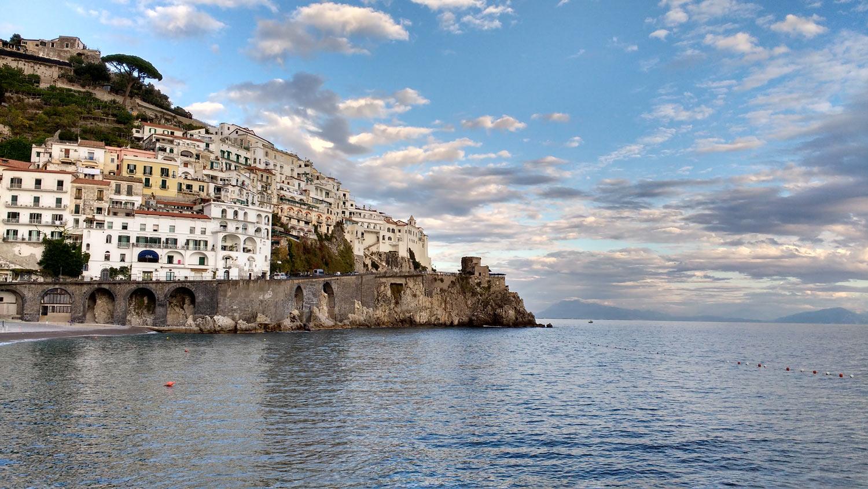 Voyage LItalie Sans Gluten Baie De Naples Rome Marie
