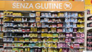 Magasin - rayon sans gluten Pompéi Italie
