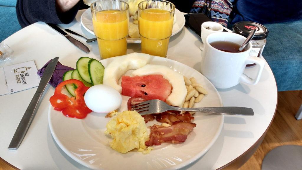 Petit-déjeuner buffet, sans gluten Biz Apartment Gärdet Stockholm