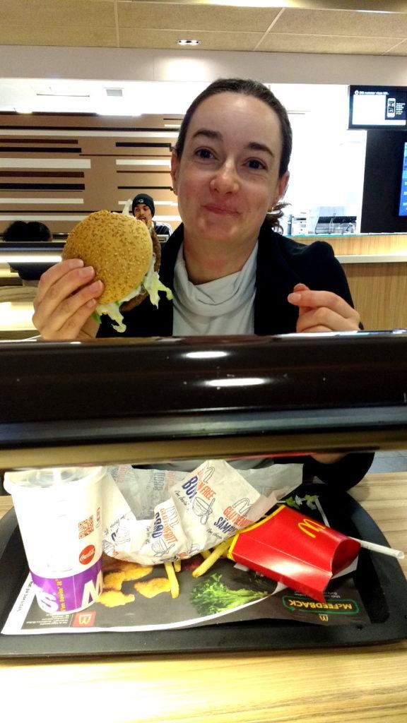 Mac Donald's sans gluten Suède