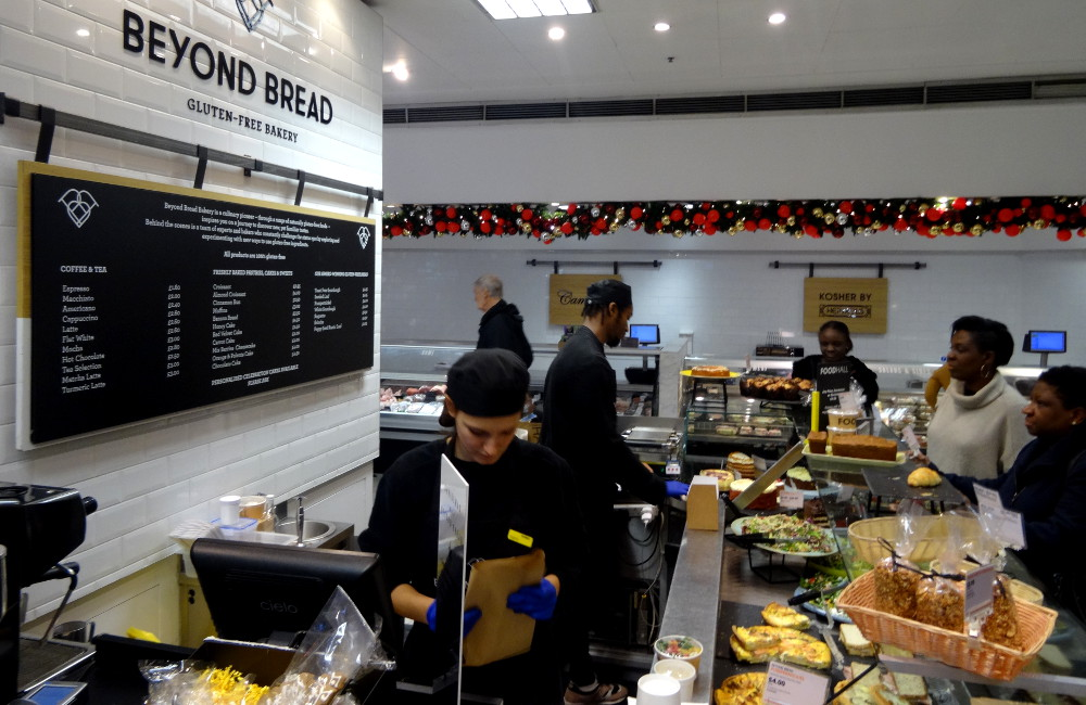 Beyond Bread Londres, sans gluten - Selfridges